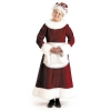 Mrs. Claus Dress Plus-Size